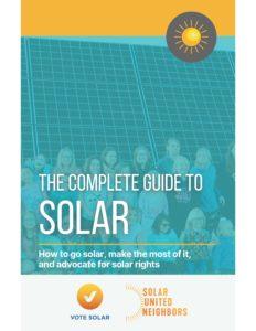 Solar Guide Cover